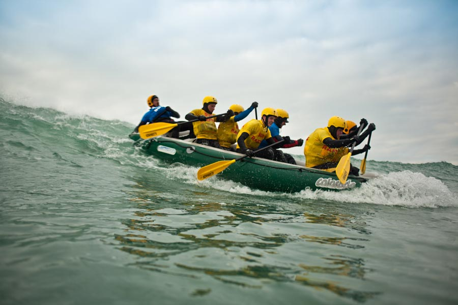 Surf Rafting with No.1 Rafting Centre in UK