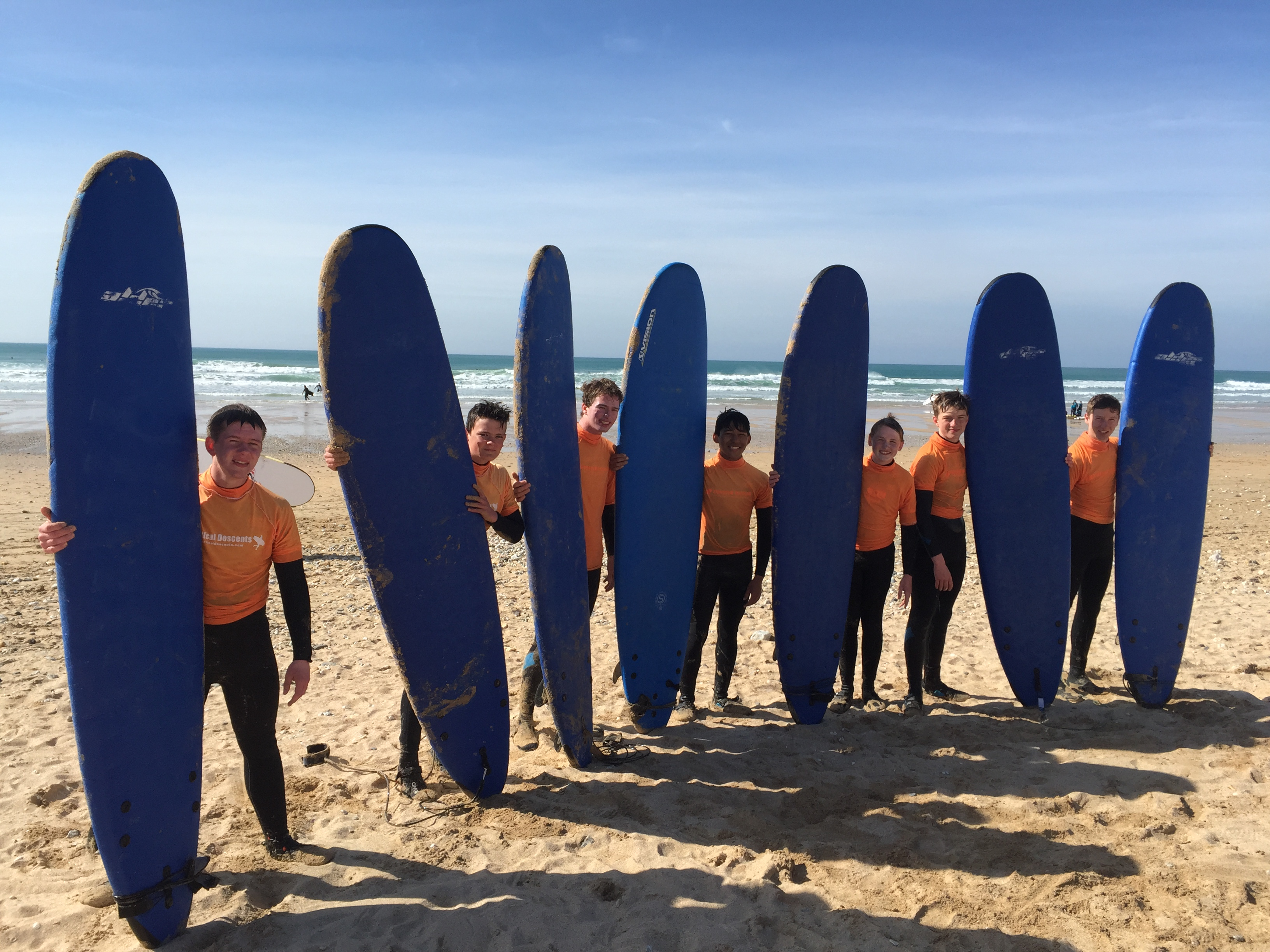 Expert Surf lessons and tuition with Newquay Water Sports Centre