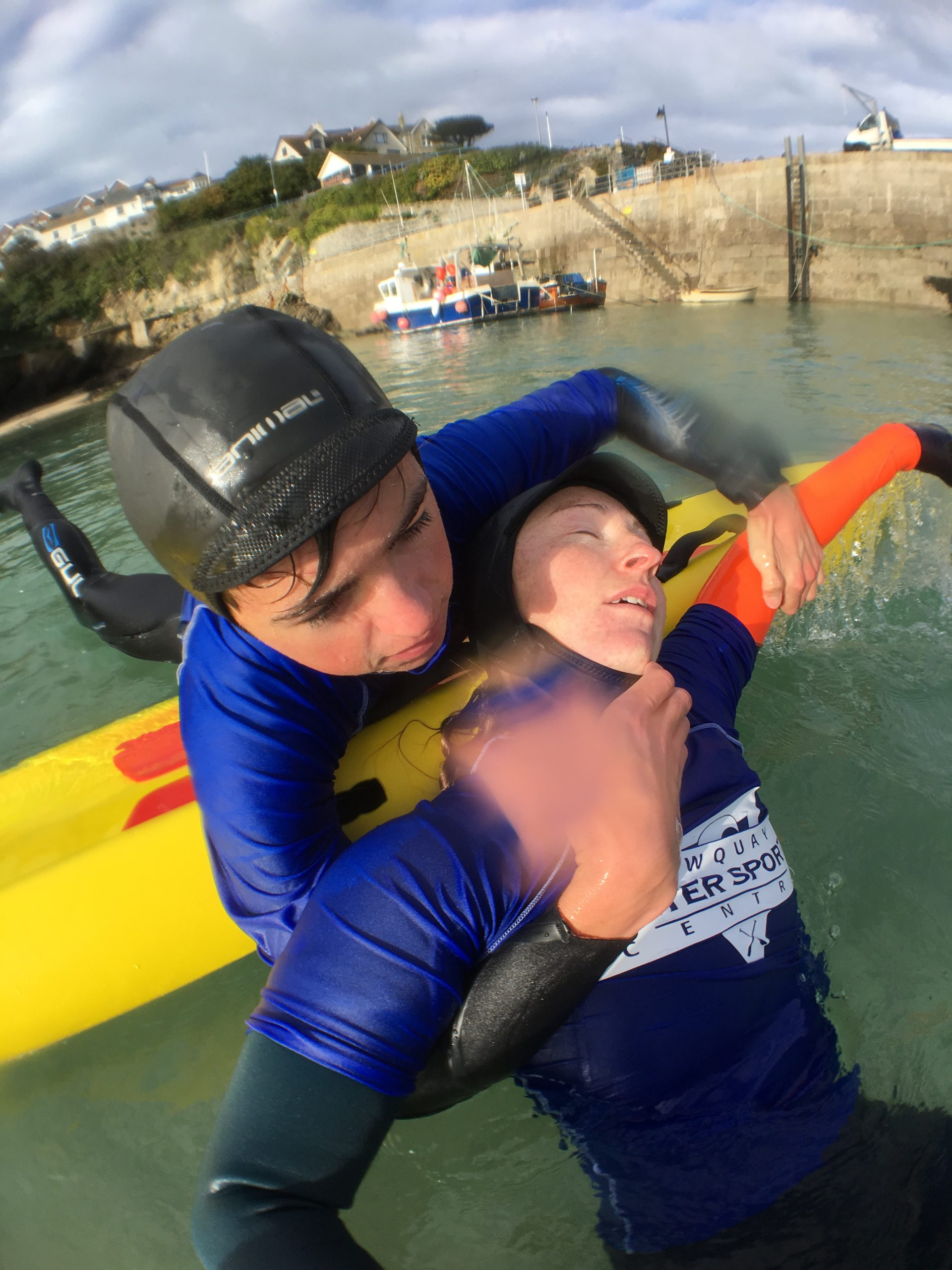 Lifeguard Course at Newquay Water sports centre