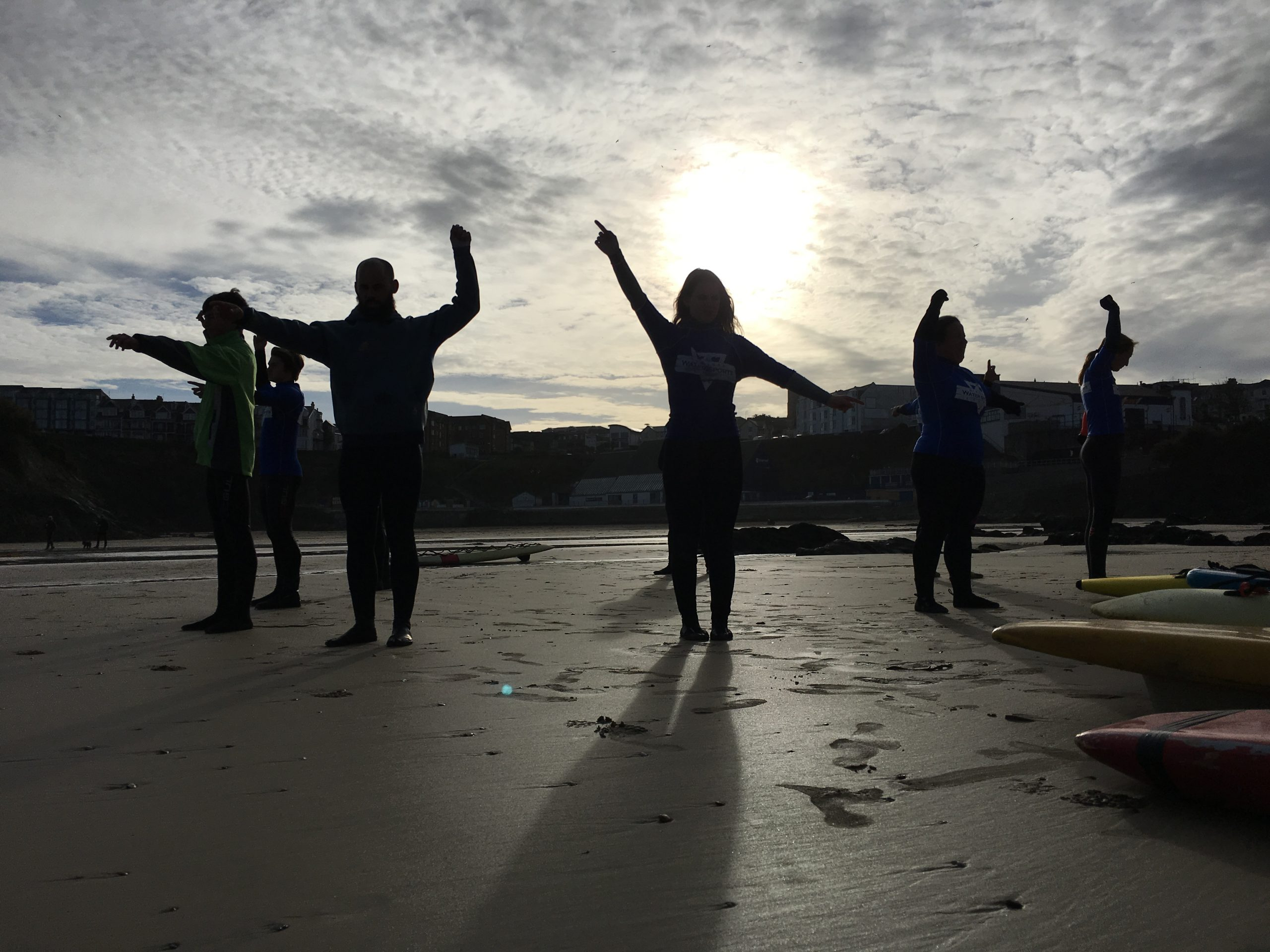 Lifeguard Course in full swing at Newquay Water Sports Centre in Newquay Harbour