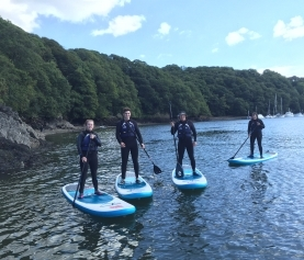 WSA Stand Up Paddle Boarding Qualifications offered by Newquay Water Sports Centre