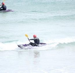 Waveski in Newquay with Newquay Water Sports Centre