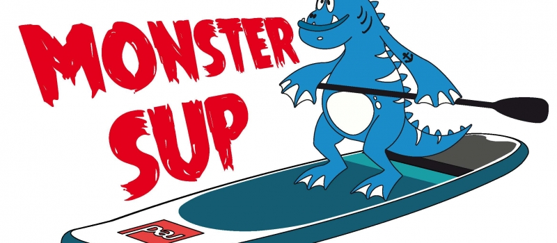 monster sup newquay logo